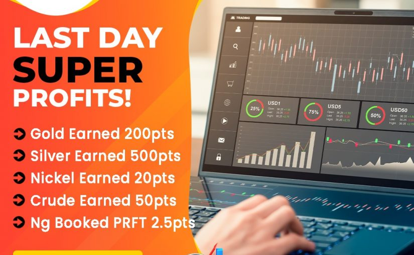 LAST DAY SUPER PROFIT UPDATE BY MCX PROFITHUB OR GET FREE TRIAL CALL @8445092236